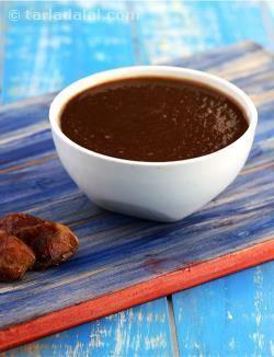 Khajur Imli ki Chutney recipe | Imli ki Chutney Recipes | by Tarla Dalal | Tarladalal.com | #2796 #indian