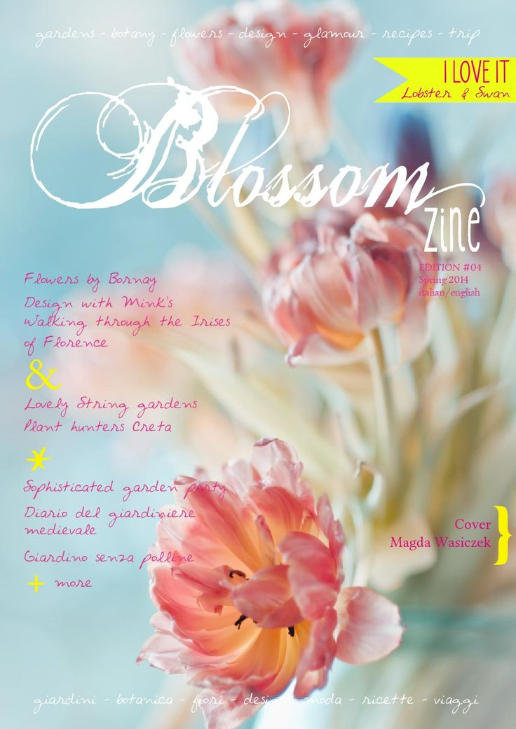 Mad about flowers? you'll love this Greenstyle magazine.