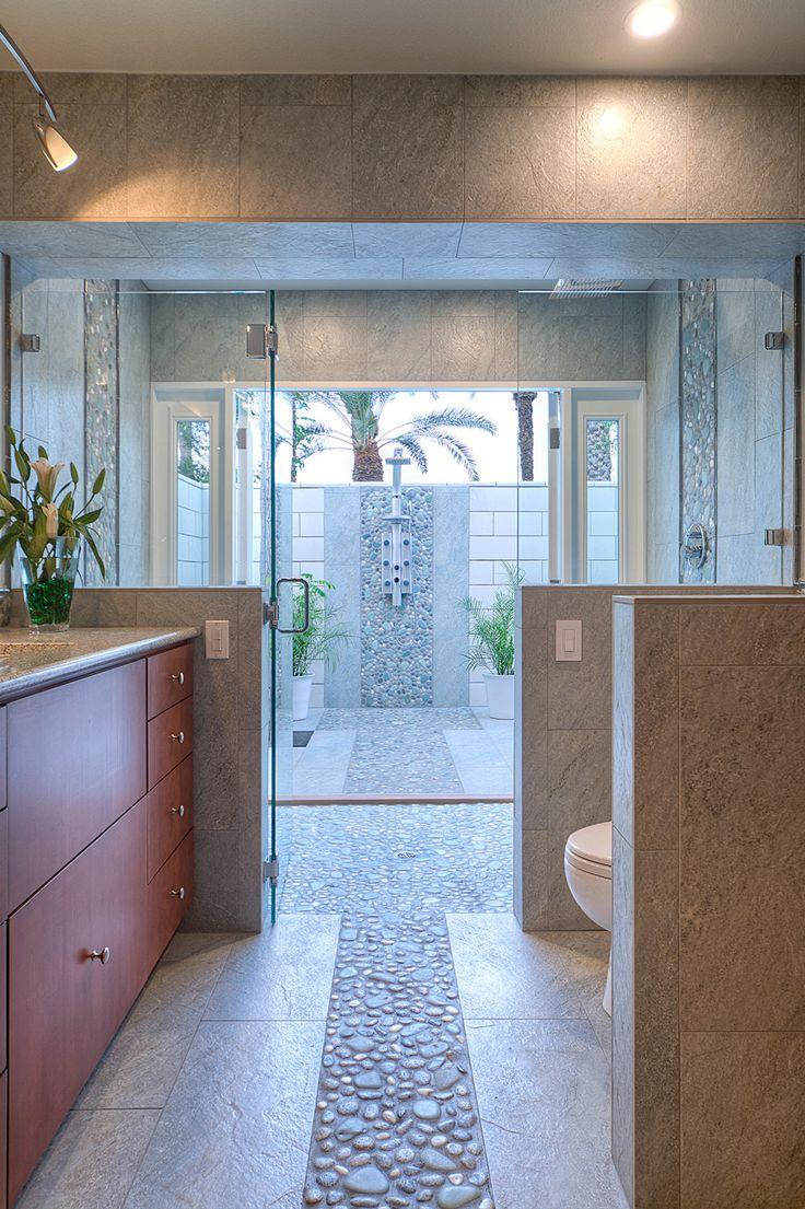 master bathroom tile design ideas 10 best Bathroom Shower Waterfall images on Pinterest