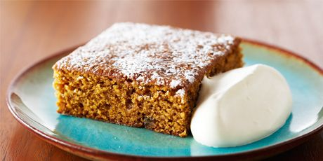 Made with real ginger and served with whipped cream, this incredible gingerbread cake is to die for.
