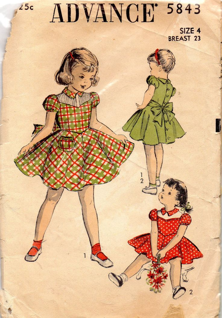 76 besten 1. VINTAGE 1950-1954 ADVANCE PATTERNS Bilder auf Pinterest ...