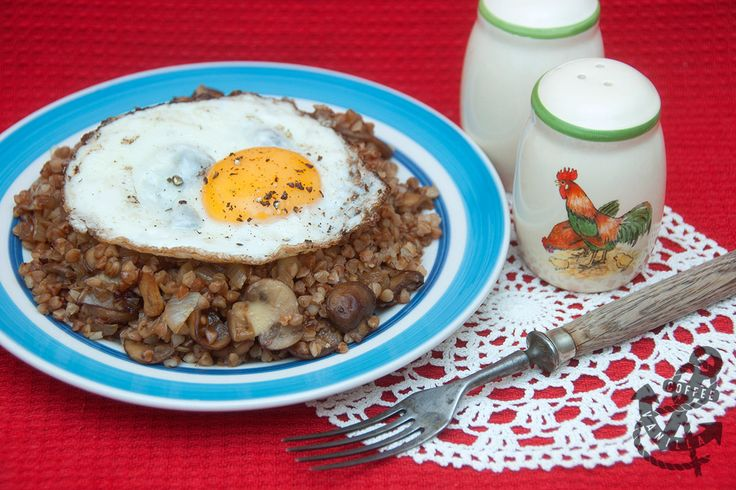 Roasted Buckwheat (Kasha) with Browned Onions