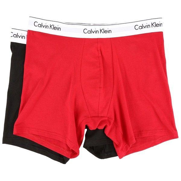 Calvin Klein Underwear Modern Cotton Stretch Boxer Brief (Regal... ($25) ❤ liked on Polyvore featuring men's fashion, men's clothing, men's underwear, mens red boxer briefs, mens underwear boxer briefs, mens boxer briefs and mens sport boxer briefs