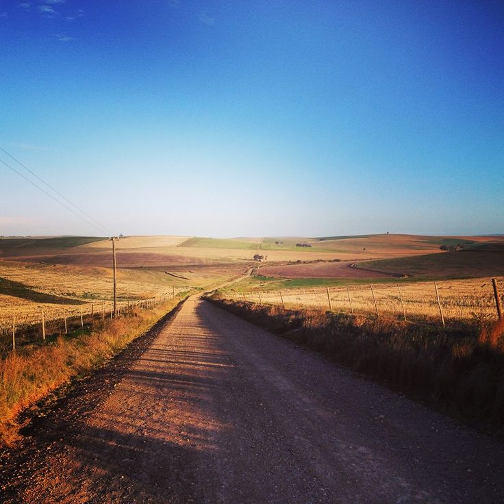 Down a dusty road! Come see for yourself. a great weekend away!