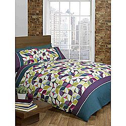 Rapport Signature Niamh Teal Duvet Cover Set - King