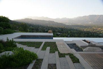 Hilltop Retreat - contemporary - pool - los angeles - Lenkin Design Inc: Landscape and Garden Design