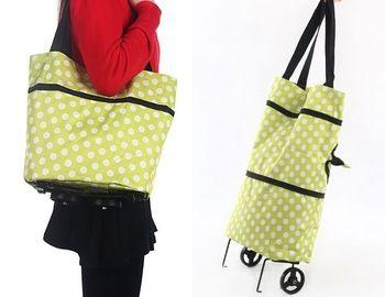 Multi - função portátil dobrável de compras reutilizáveis carrinhos de compras de supermercado saco sacos frete grátis