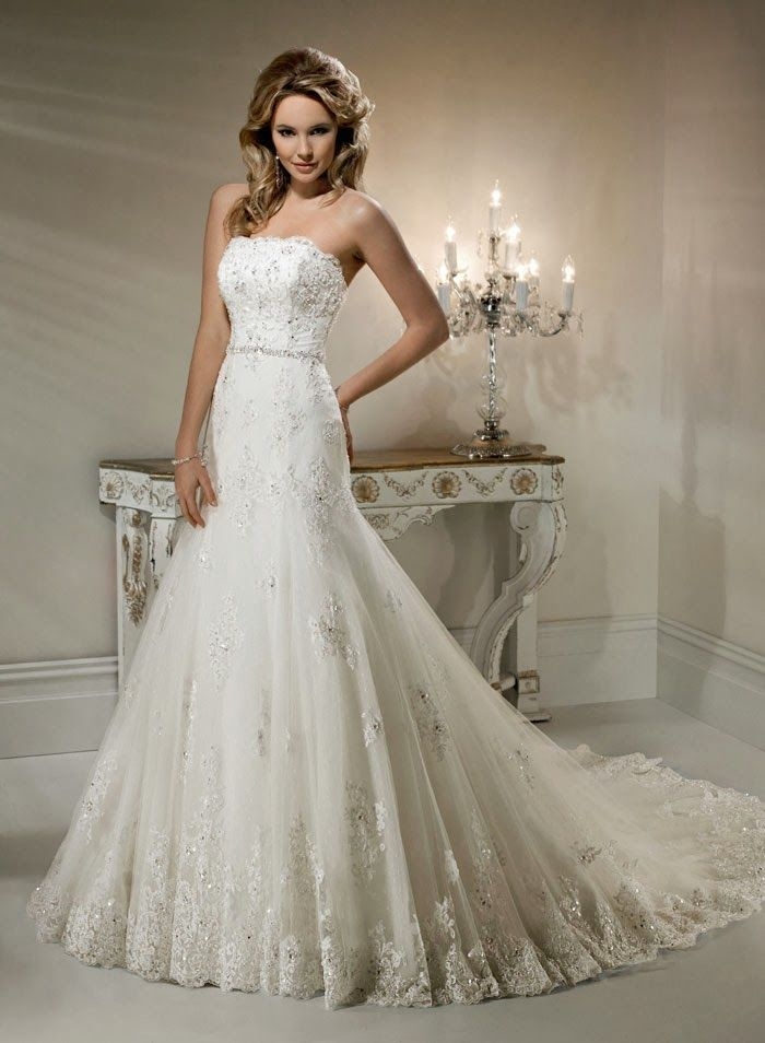18 best wedding dresses images on Pinterest | Wedding dressses ...
