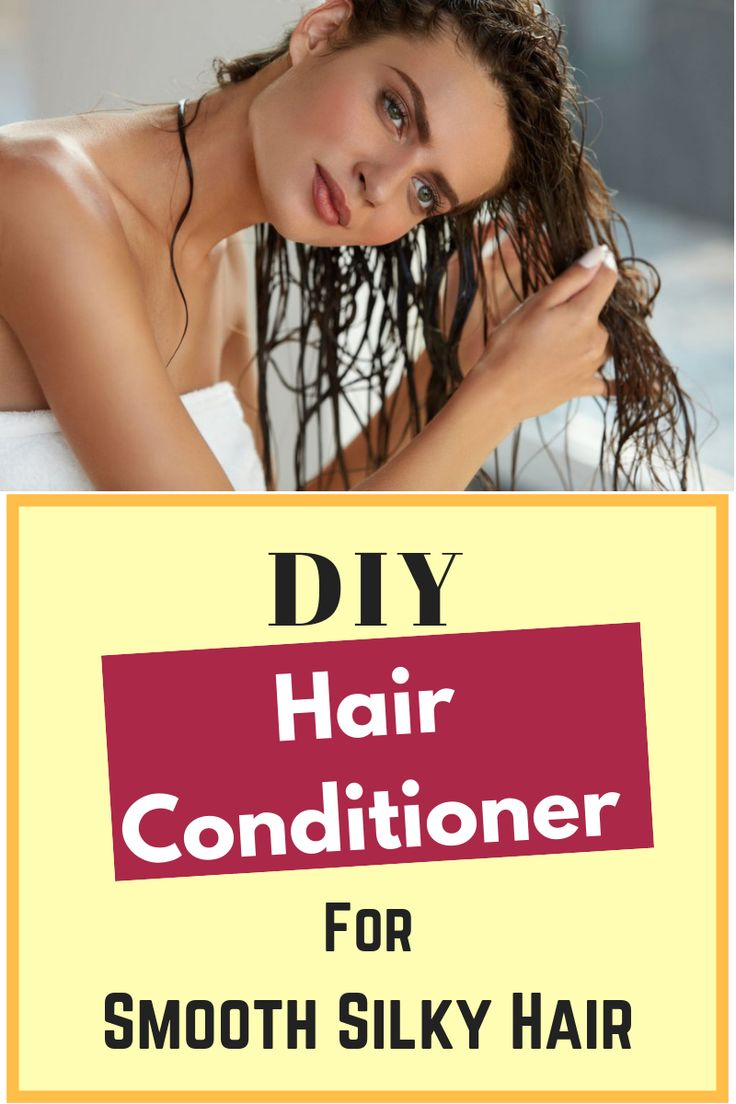 DIY hair conditioner to get smooth, shiny and strong hair