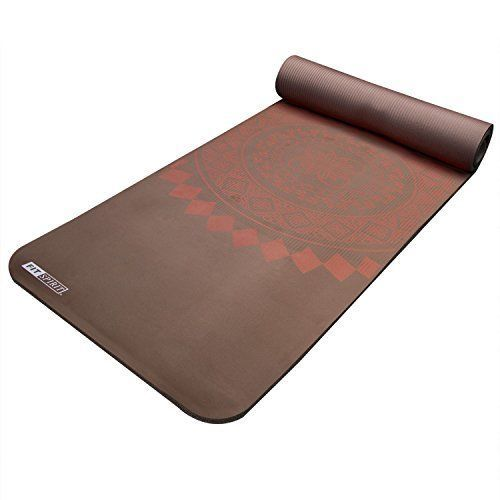 Comfort Extra Thick Workout Yoga Studio Mat Pilates Gym Camping Easy Clean New #yogamat