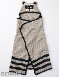 Lil' Bandit Crochet Baby Blanket | AllFreeCrochetAfghanPatterns.com