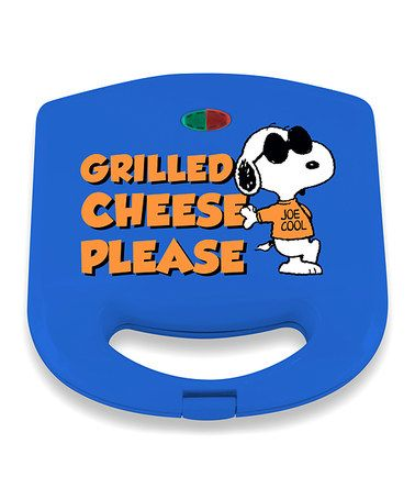 Look at this #zulilyfind! Peanuts Snoopy Grilled Cheese Maker #zulilyfinds