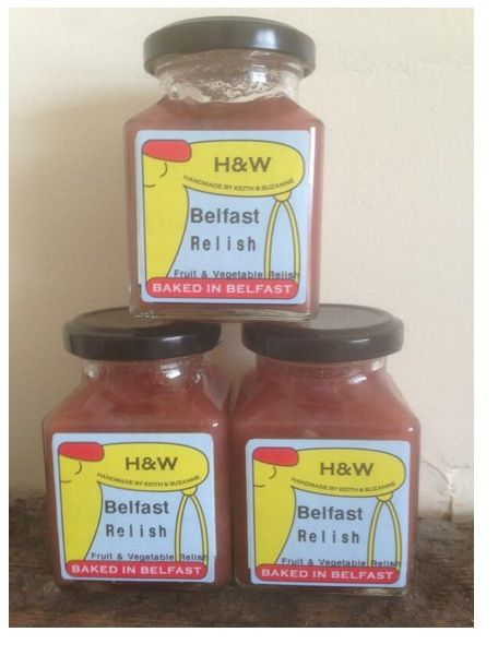 Belfast Relish made from all the things my Granda used to grow