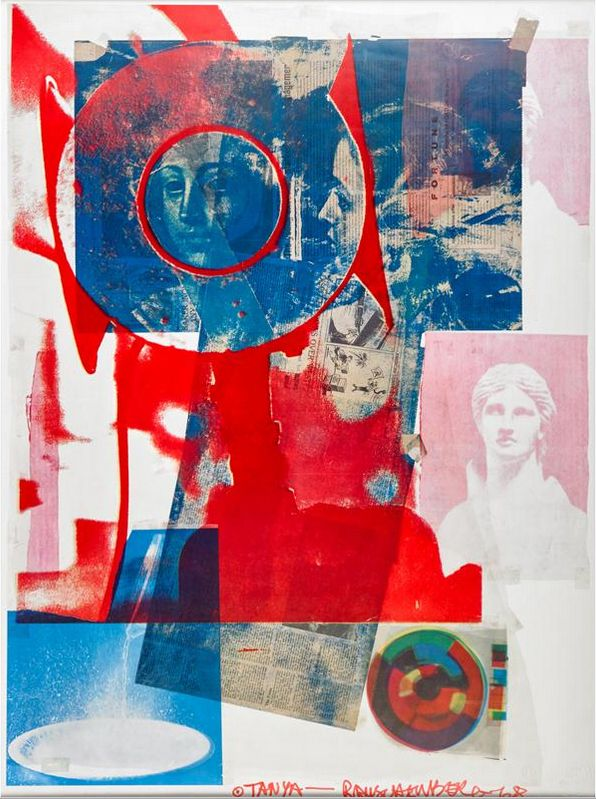 Robert Rauschenberg Available Photographs, Collages, Drawings and Prints