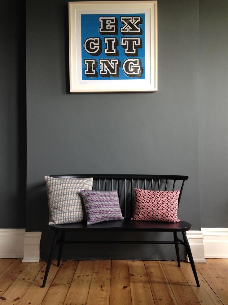 An inspirational image from Farrow & Ball - Down Pipe.