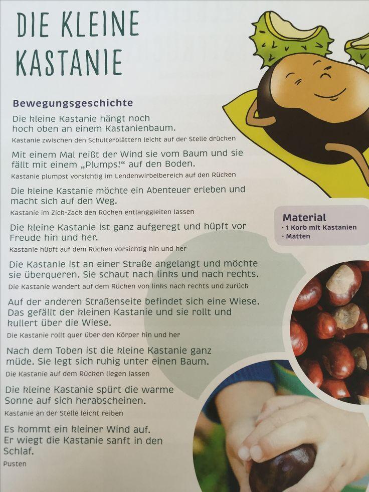 Die kleine Kastanie… Herbst Bewegungsgeschichte Kita Kindergarten … – karina pfennig