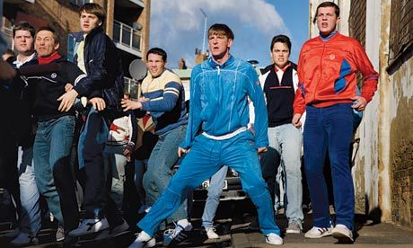 Nick Love's remake of The Firm features many primary-coloured tracksuits. Photograph: PR