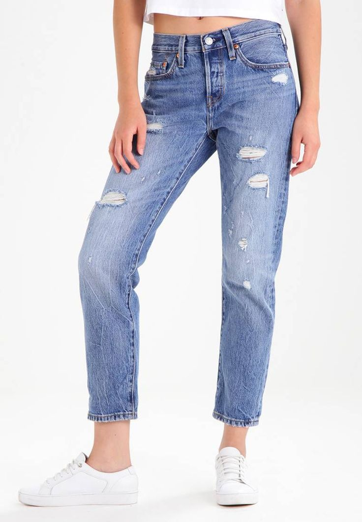 """Levi's®. 501 TAPER - Jeans Tapered Fit - partner in crime. Fit:Tapered leg. Outer fabric material:100% cotton. Our model's height:Our model is 69.5 """" tall and is wearing size 27x28. Care instructions:machine wash at 30°C,Machine wash on gentle cycle. inner..."""