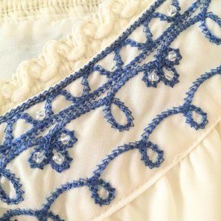 INGNI(イング)の美品♡INGNI エスニック刺繍ブラウス レディースのトップス(シャツ/ブラウス(半袖/袖なし))の商品写真