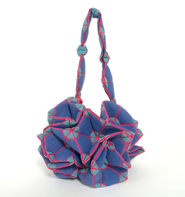 Maori Kimura Pop Up Origami Bags #fashion #papercraft #origami