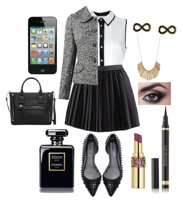 """""""108. Anne Cox — Shopping"""" by choosemaknae ❤ liked on Polyvore featuring Jason Wu, H&M, Dolce&Gabbana, Yves Saint Laurent, MANGO and Armitage Avenue"""