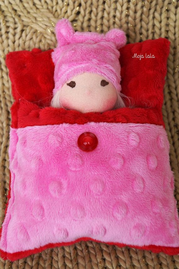 Reserved for Kat. Tiny baby waldorf doll. by Mojalala on Etsy