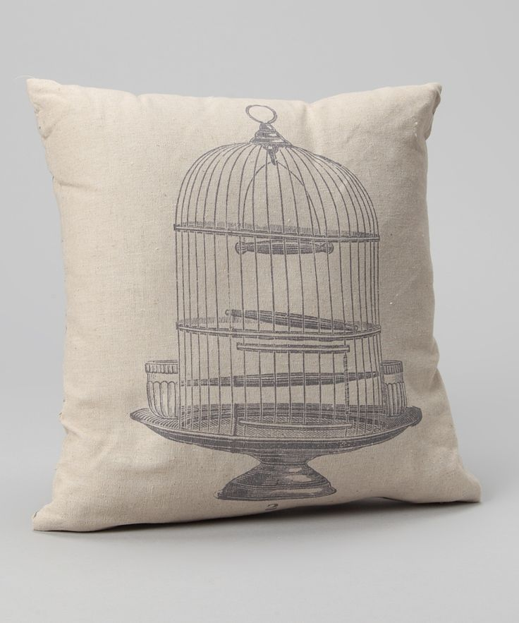 Take A Look At This Birdcage Pillow By Designs Combined Inc.