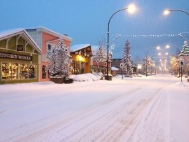 Yup - winters really do look like this in Smithers, BC!