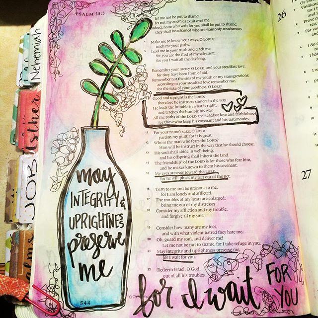 Psalm 25 / christinasalive / Christina Lowery