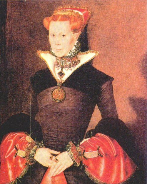 "A rare portrait of Mary I as queen. She was the only child born of the ill-fated marriage of Henry VIII and his first wife Catherine of Aragon who survived to adulthood. Born 18 February 1516 – 17 November 1558. She was was Queen of England and Ireland from July 1553 until her death. Her brutal persecution of Protestants caused her opponents to give her the sobriquet ""Bloody Mary""."