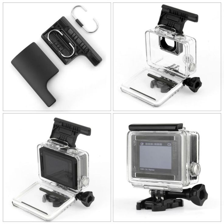 >> Click to Buy << RB For GoPro Accessories For GoPro Hero 4 Underwater Waterproof Housing Case Replacement for GoPro Hero 4 3 3+ Black Silver #Affiliate
