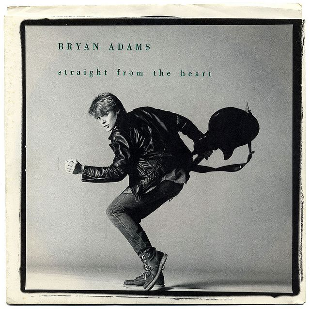 """""""Straight From The Heart"""" - Bryan Adams"""