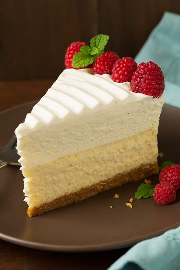 Vanilla Bean Cheesecake (Cheesecake Factory Copycat)   Cooking Classy