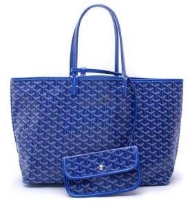 Bolsa Goyard Saint Louis Azul