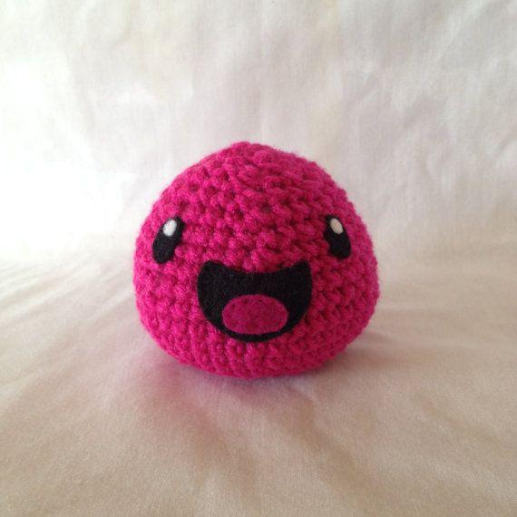 Amigurumi Pink Slime - Slime Rancher