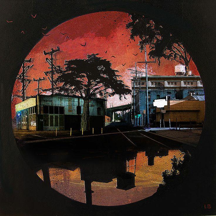 LIZ BRIZZI http://www.widewalls.ch/artist/liz-brizzi/ #collage #painting #photography