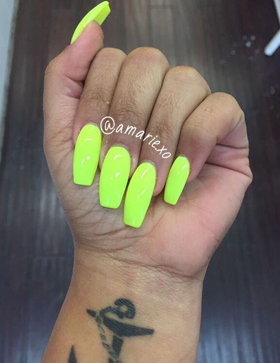 Pin By Gorgeous On Yass Nails Neon Nails Nails 2018