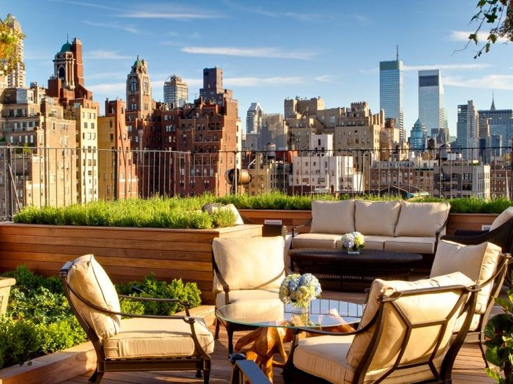 ROOF GARDEN  New York, New York    Hotel: The Surrey    What you will see: New York's Upper East Side and expansive views of Central Park New Hotel Project Designs