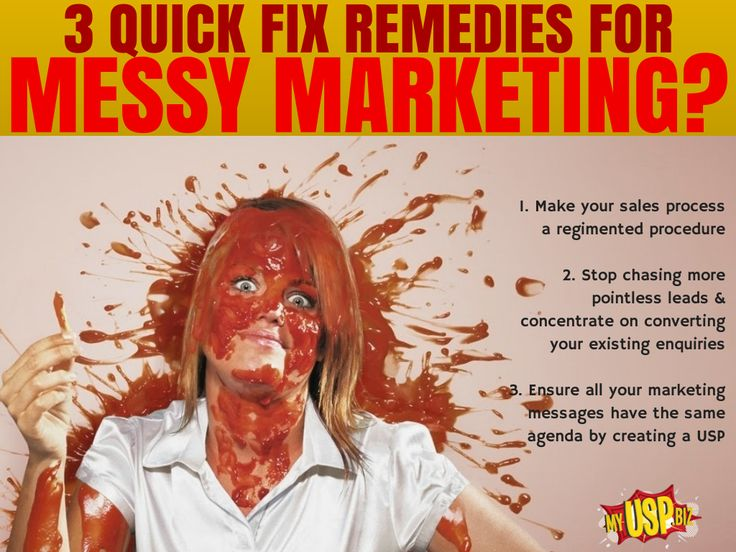 Everyone's marketing call get untidy if left to do it's own thing. Get on top of it with these three steps.