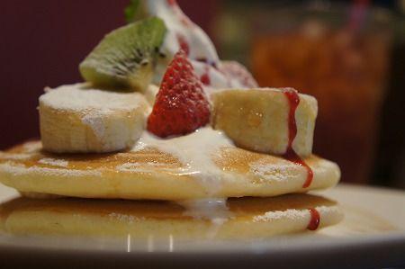 Fruit pancake