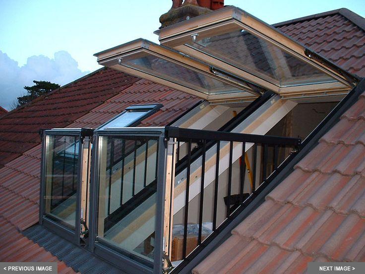 VELUX CABRIO balkonvensters brengen een balkon op zolder! www.velux.nl #VELUX