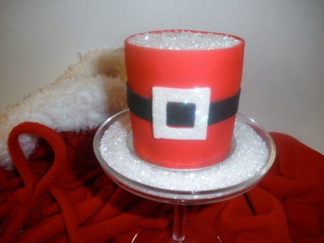 Santa CakeGift Ideas, Darling Doodles, Santa Cake, Cake Christmas, Gift Ma, Minis Cake, Christmas Gift, Minis Santa, Christmas Cake