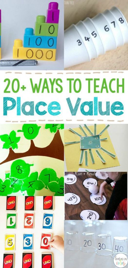 20+ Hands-on Ways to Teach Place Value
