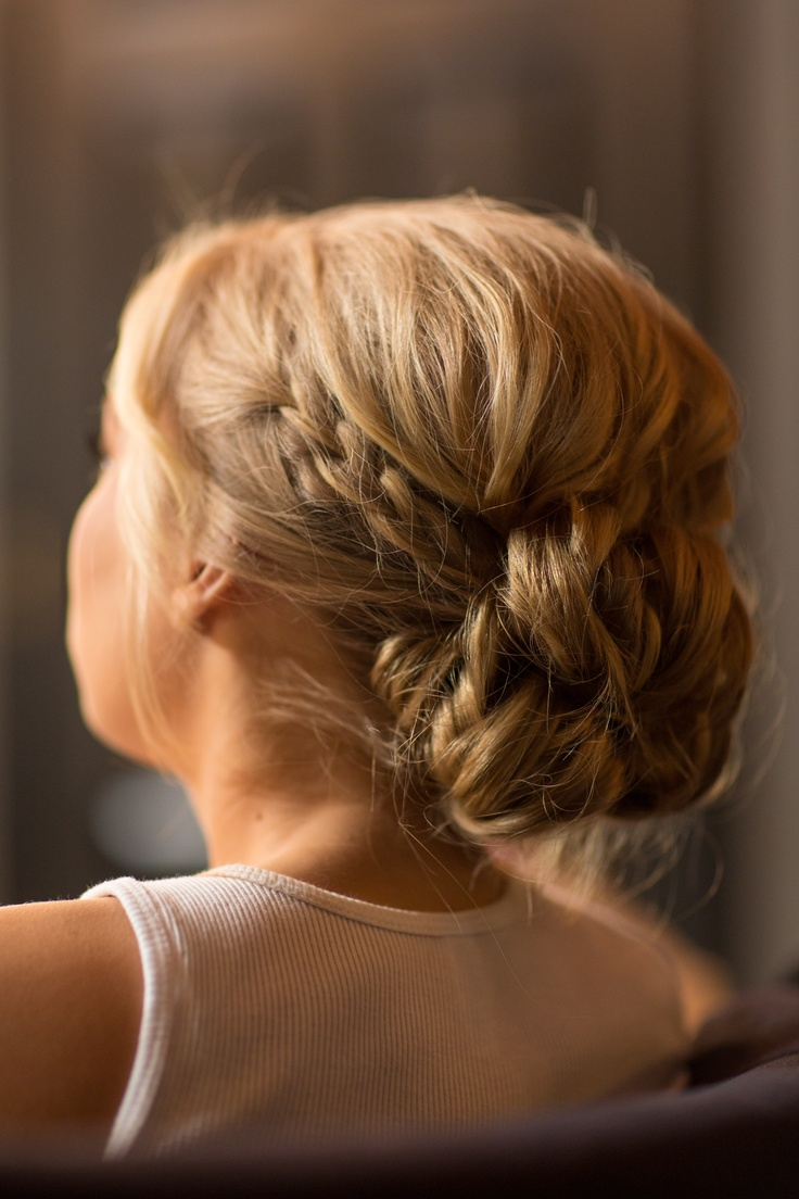 more subtle braid could look really nice