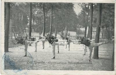 Émile Pécaud Postcard - (Moka Chicorées) Les Sports, Gymnastique Assouplissements