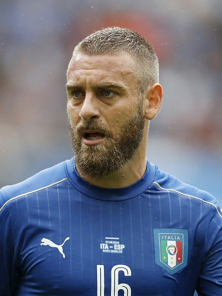 #EURO2016 Daniele De Rossi of Italy during the UEFA Euro 2016 round of 16 match between Italy and Spain on June 27 2016 at the Stade de France in Paris France