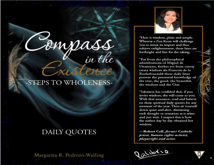 #Inspirational, #wholeness #DailyQoutes #compass ~ Let's get a Perfect Soul! ~