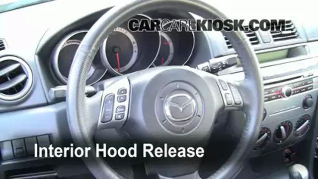 Oil & Filter Change Mazda 3 (2004-2009) - 2008 Mazda 3 S 2.3L 4 Cyl. Hatchback
