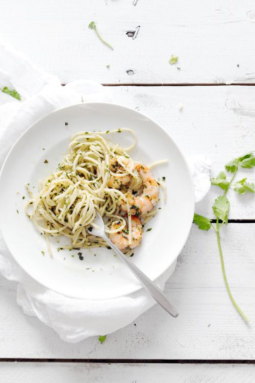 Pesto Prawn Pasta | natalie eng | patisserie • food photography