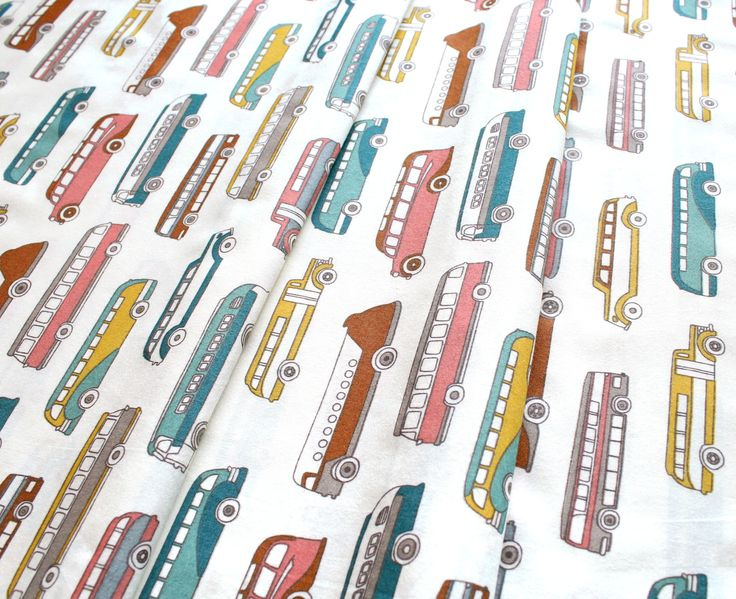 Birch Fabrics Trans Pacific Retro Bus